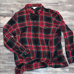 Old Navy the classic shirt plaid flannel XXL 2x